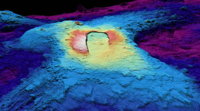 axial seamount, volcanic mountain, axial, langseth, oregon coast