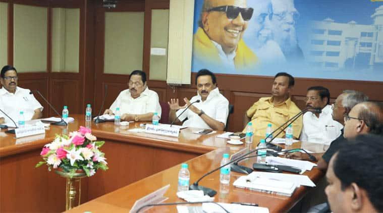 Stalin, DMK, DMK protest, CAA, CBA, Citizenship Amendment Act, Congress, Opposition parties. Amit Shah, Narendra Modi, BJP, Tamil Nadu Politics, Indian Express News, Chennai News,