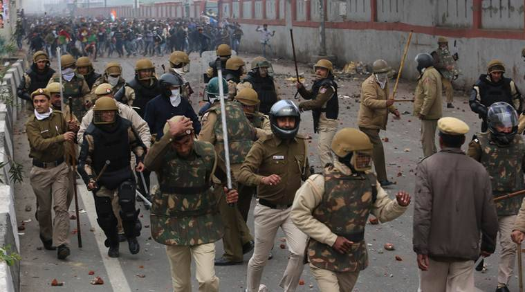 Seelampur violence: 20 surrounded us, pelted stones, says injured constable