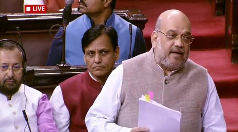 CAB in Parliament today: Rajya Sabha TV telecast briefly stopped after Amit Shah heckled by Opposition