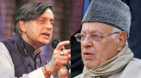 Farooq Abdullaha letter to Shahshi tharoor, Shashi tharoor on J&K leaders house arrest, Parliament session, Jammu and kashmir, India news, Indian express