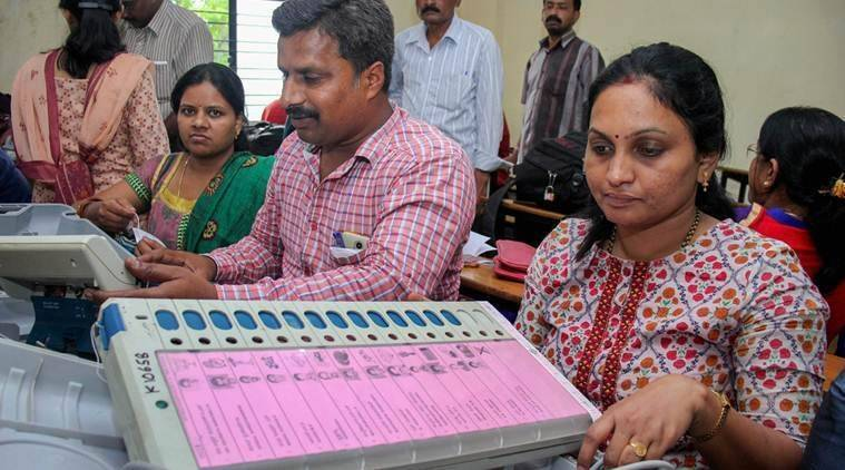 Counting of votes underway in Karnataka for 15 assembly seats