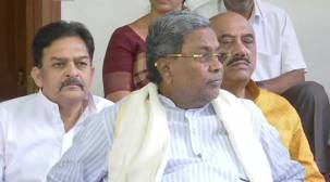Siddaramaiah hospitalised for angioplasty treatment