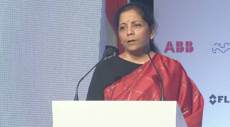 nirmala sitharaman, forbes list of powerful women, sitharaman forbes list, sitharman forbes powerful woman, kiran mazumdar shaw, Roshni Nadar Malhotra, indian express