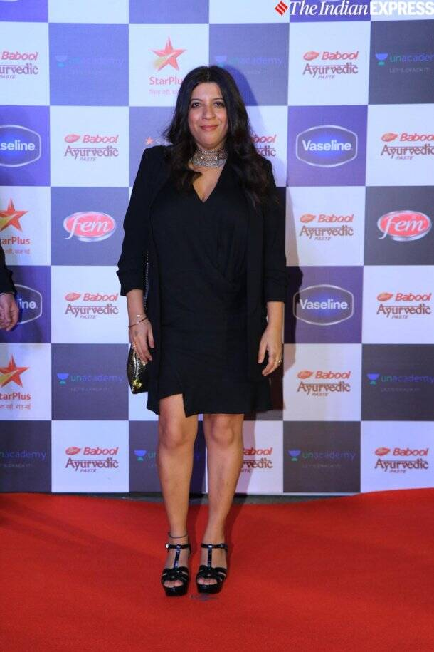 zoya akhtar at Star Screen Awards 2019