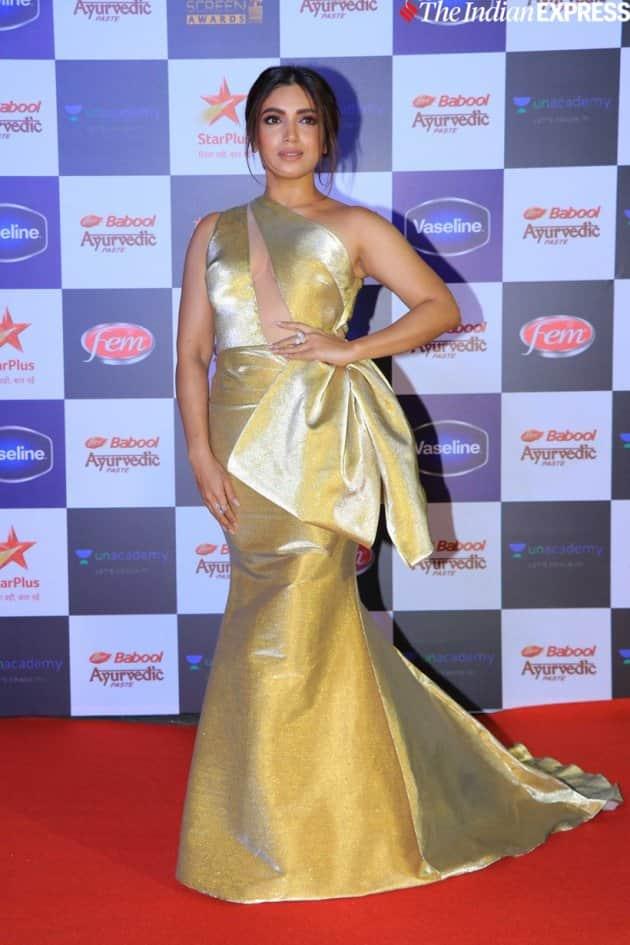 bhumi pednekar at Star Screen Awards 2019