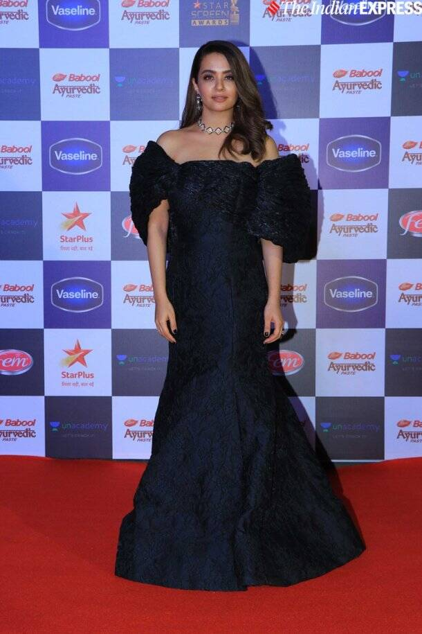 surveen chawla at Star Screen Awards 2019