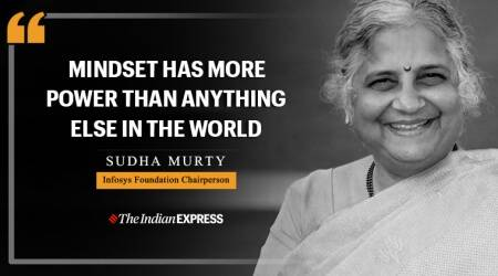 sudha murty, sudha murty inspiring video, inspiring talks, indianexpress.com, indianexpress, good morning messages, Life Positive, mindset, attitude,