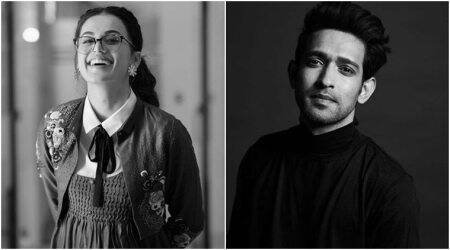 taapsee pannu and vikrant massey in Haseen Dillruba
