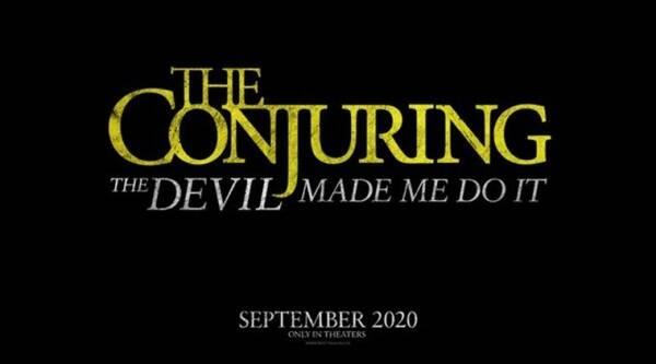 The Conjuring 3 title