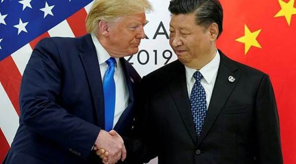 US china trade deal, jum in sensex, FM meeting with PSBs boosts sentiment, indian economy, economy news, india news, indian express news