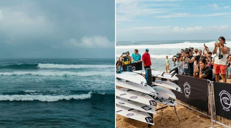 Surfing, pro surfing in Hawaii