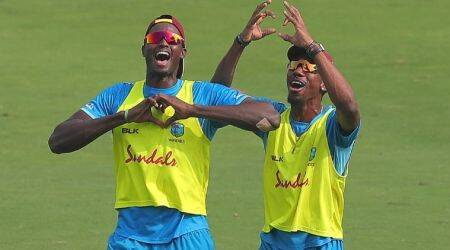 In Pics: Kieron Pollard-led West Indies sweat it out ahead of Hyderabad T20I