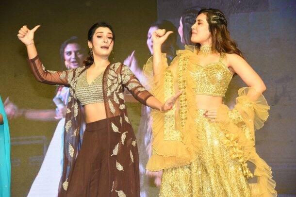 raashi khanna with payal rajput
