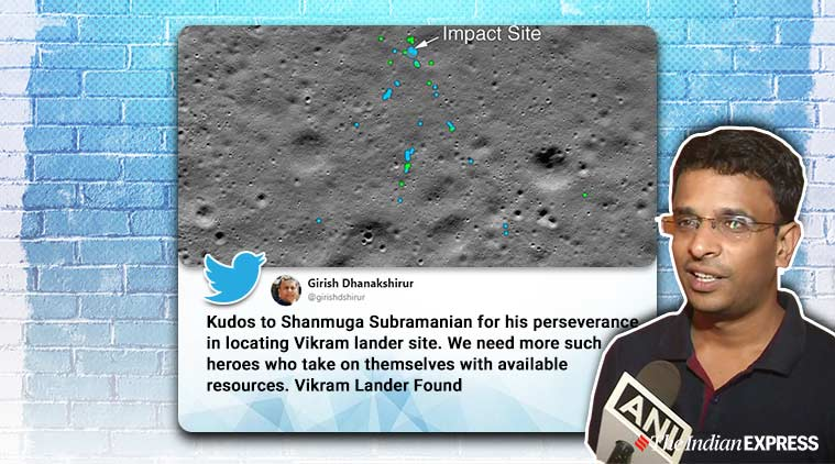 NASA and amateur space enthusiast find lost Indian moon lander