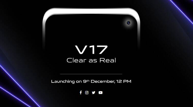 Vivo V17 with SD675, Punch-hole Display, and Quad-Cameras Launched