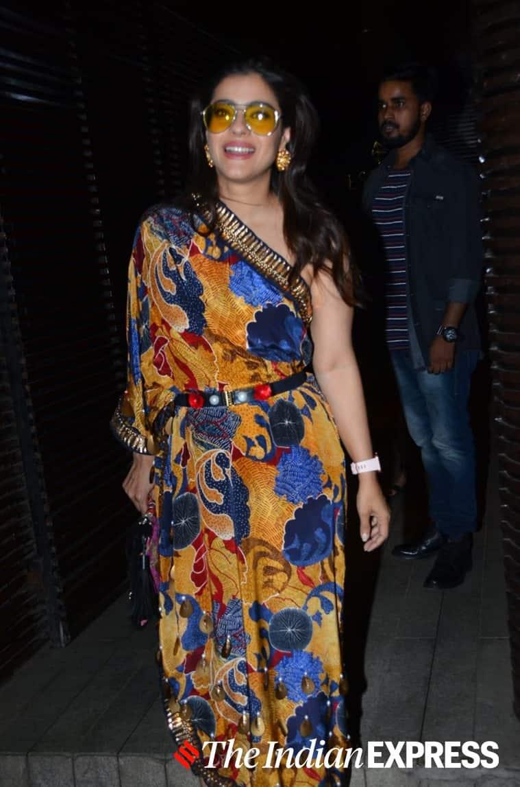 kajol recent photos, kajol in Shivan and Narresh, Shivan and Narresh, kajol latest photos, bollywood fashion faux pas, bollywood fashion disaster, indian express, lifestyle