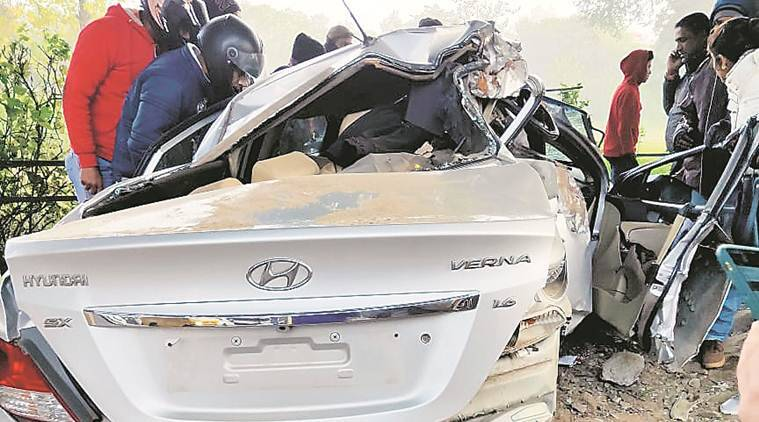 chandigarh sector 23 accident, chandigarh sector 24 accident, chandigarh accident, chandigarh city news