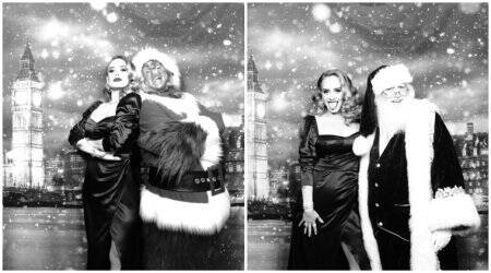 Adele Christmas party