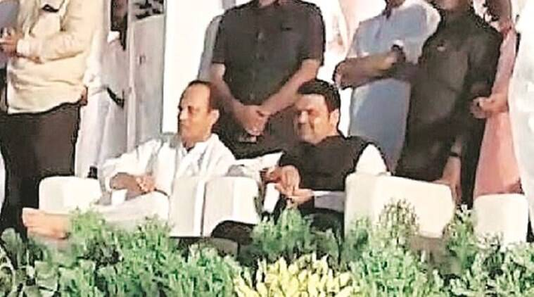 Ajit Pawar meets Fadnavis first time after resigning as Maharashtra Dy CM: 'Discussed hawa-pani'