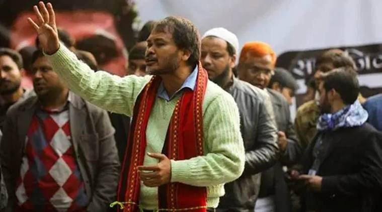 cab protests in west bengal, RTI activist Akhil Gogoi, Akhil Gogoi guwahati CAB protests, assam cab protests, citizenship amendment act, india news, indian express