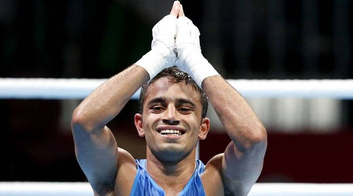 Boxer Amit Panghal, Amith Panghal, boxer Sanjeet, Boxing tournament in France
