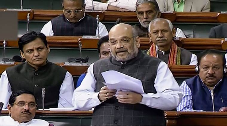 union home minister amit shah, government spg cover gandhi family, rahul sonia priyanka gandhi spg cover withdrawal, rajya sabha debate spg bill,