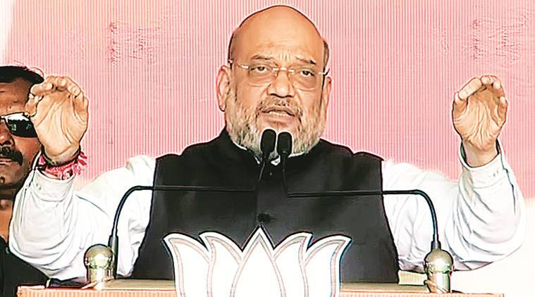 Sky-high Ram temple in Ayodhya in four months: Amit Shah promise