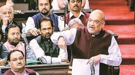 citizenship bill, citizenship amendment bill, amit shah, iimb, indian express