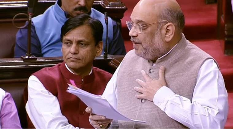 Amit Shah, Amit Shah on CAB, citizenship amendment bill, muslims in india, CAB Amit Shah, indian express, CAB muslims, minorities in india