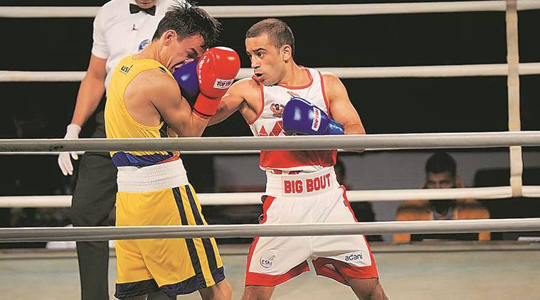 Worlds silver medallist Amit Panghal, Amit Panghal boxing, Amit Panghal Tokyo olympics, Asian Olympic qualifier Amit Panghal