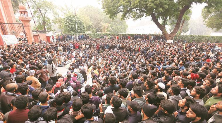 citizenship bill protest, amit shah, aligarh muslim university, amu protests,  Aligarh Muslim University CAB protests, cab protest news