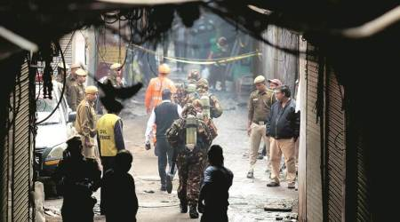 Discussion on Anaj Mandi fire brings North MCD tension to surface