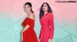 Janhvi Kapoor and Ananya Panday ring in Christmas with red