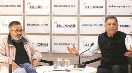 Arvind Subramanian, Arvind Subramanian Idea Exchange, Idea Exchange Indian Express, Arvind Subramanian on Indian economy, economic slowdown, Indian economy, GDP, Indian Express