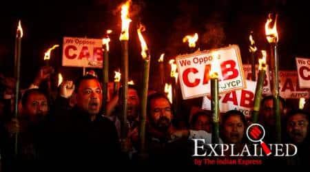 Citizenship Amendment Bill, Citizenship Amendment Bill 2019, CAB, CAB 2019, CAB in Lok Sabha, CAB in Rajya Sabha, CAB protests, Citizenship Bill protests, Express Explained, Indian Express