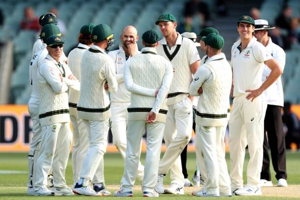 nathan lyon, lyon, david warner, warner, australia vs pakistan, aus vs pak, aus vs pak pics, sports news, indian express