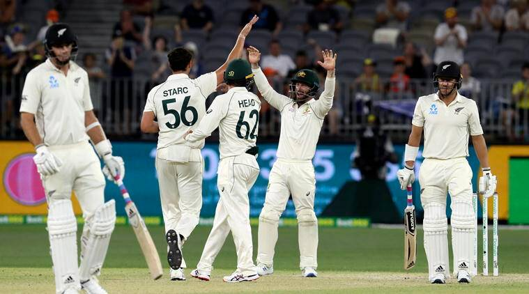 Australia thrash new zealand by 296 runs to take lead in series