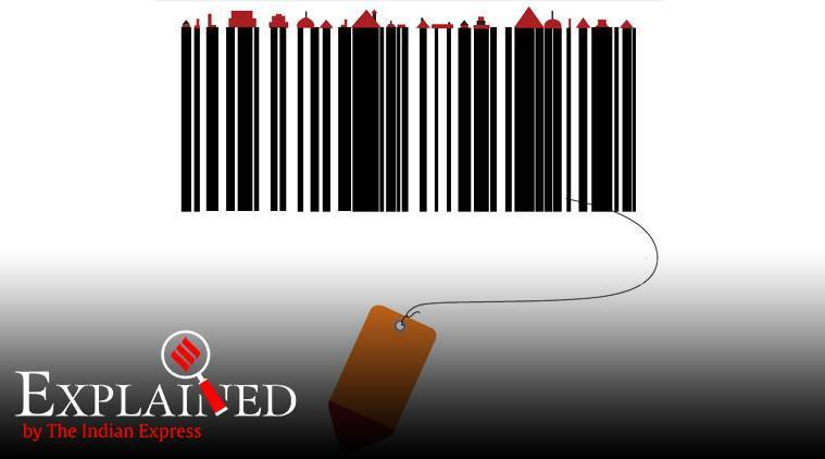 George Laurer barcode, barcode history, retail shopping barcode use, indian express explained, latest news
