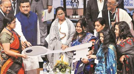 Bengal Business Conclave: Industrialists scared, many have to pay CBI tax, says Mamata