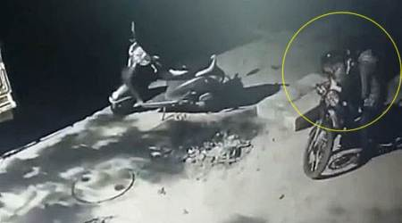 Watch: Bengaluru thieves steal 3 bikes from same area; caught on CCTV