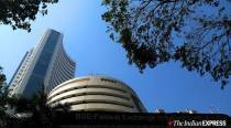 Sensex spurts over 170 points in choppy trade