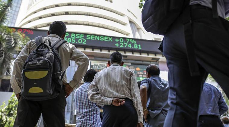 sensex live updates, sensex rate today, bse sensex update, nse nifty live udpates, nifty 50 latest update, indian share market news, business news, indian express business