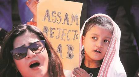 Citizenship Amendment Act: Assamese students, many from Guwahati protest at Azad Maidan