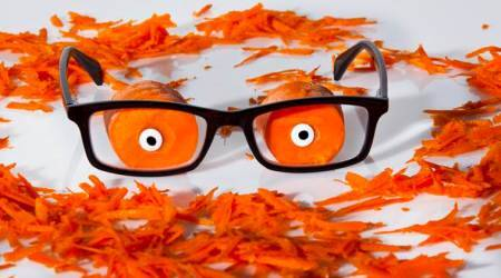 carrots, eyes, eye health, indian express, indian express news