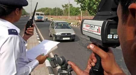 Chandigarh news, Chandigarh traffic police, Chandigarh police, Chandigarh traffic challan, poor challaning performance, Indian express
