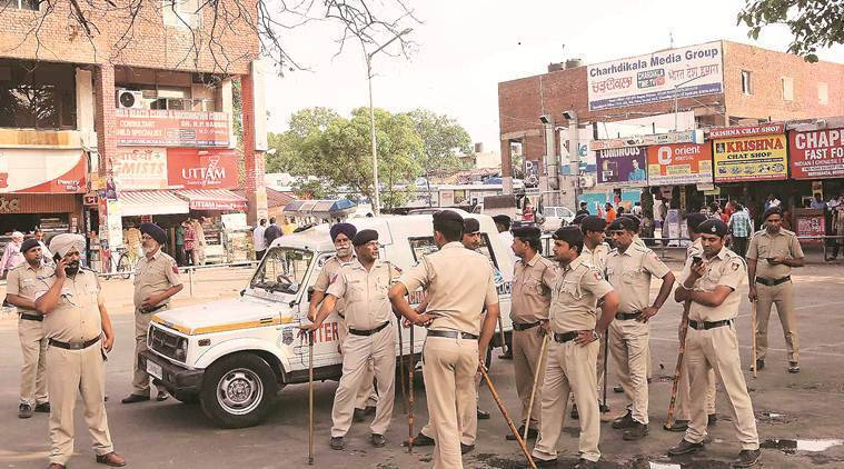 chandigarh cops, salary scam, CAG audit, Police dept, Indian express news