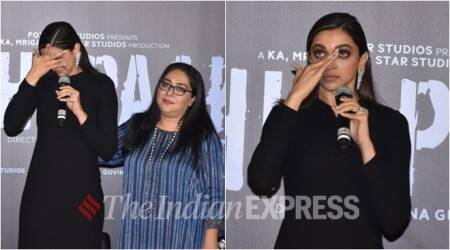 Chhapaak trailer launch: Deepika Padukone gets teary-eyed