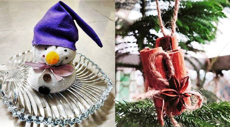 9 Natural Diy Christmas Crafts For Kids Parenting News The Indian Express
