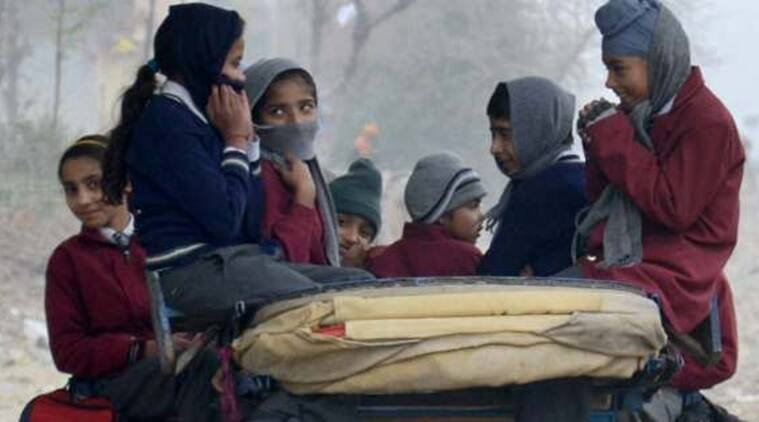 Noida schools, Noida schools closed, Noida school shut down, Noida school severe cold, Noida school students, Education News, Indian Express, Indian Express News